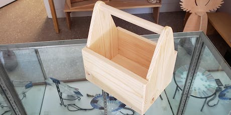 Woodworking 101 - Make a Tote/6-Pack Carrier  tickets