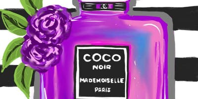 Coco Chanel Sip and Paint