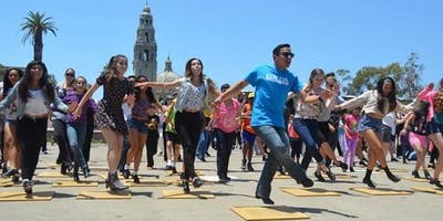 National Tap Dance Day Flash Mob in Balboa Park - 2019