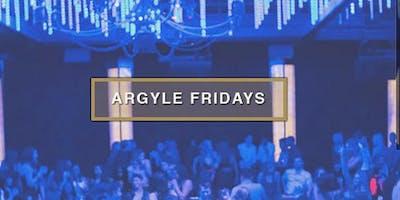 Argyle Fridays at The Argyle Free Guestlist - 6/28/2019