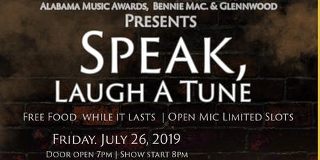 Speak Laugh  A Tune  tickets