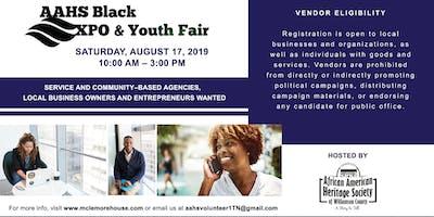 2019 Black EXPO & Youth Fair Vendor Registration