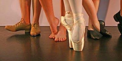 Dance Passport Workshop - Sample Lots of Styles of Dance!
