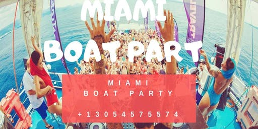 Miami Boat Party Unlimited Drinks -Jet Ski & Banana boat