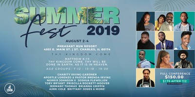 Summerfest Youth and Young ***** Conference