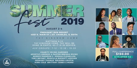 Summerfest Youth and Young adult Conference tickets