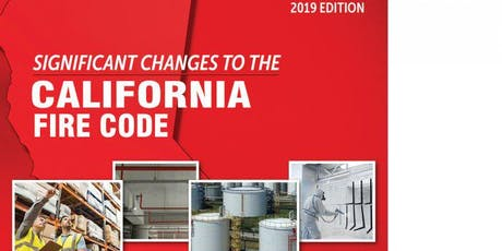 California Fire Code Updates - for Building and Fire Departments tickets
