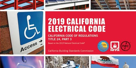 California Electrical Code Updates tickets