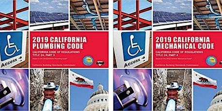 California Plumbing and Mechanical Code Updates
