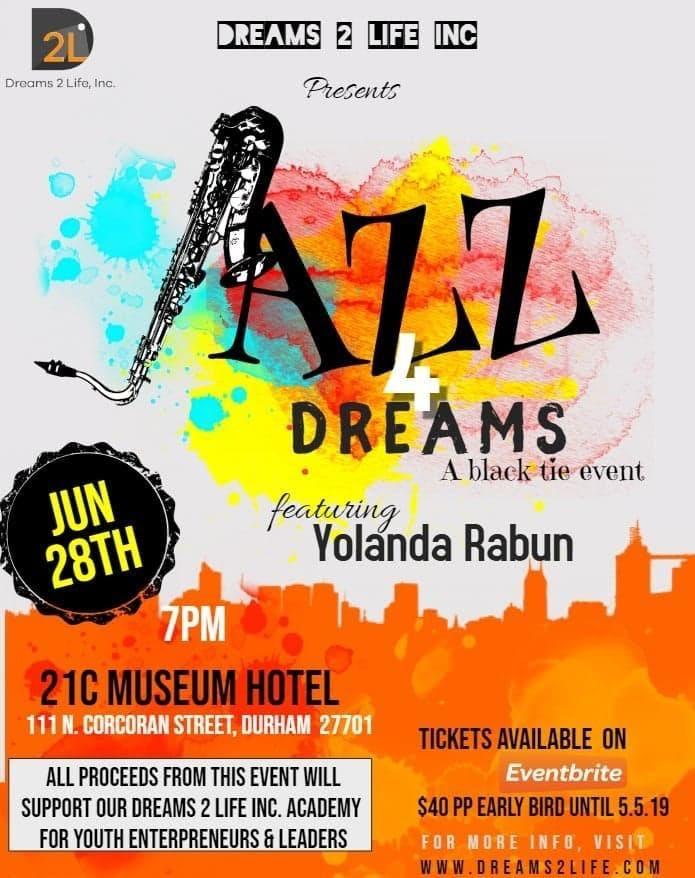 Jazz 4 Dreams (A Black Tie Affair) - Fundraiser for Dreams 2 Life