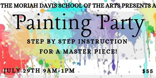 Painting Party - Step By Step Instruction for a Masterpiece