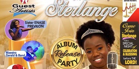Sterlange Album release tickets