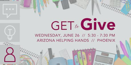 GET to Give: Arizona Helping Hands tickets