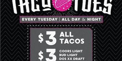 Taco Tuesdays at El Hefe Free Guestlist - 6/18/2019