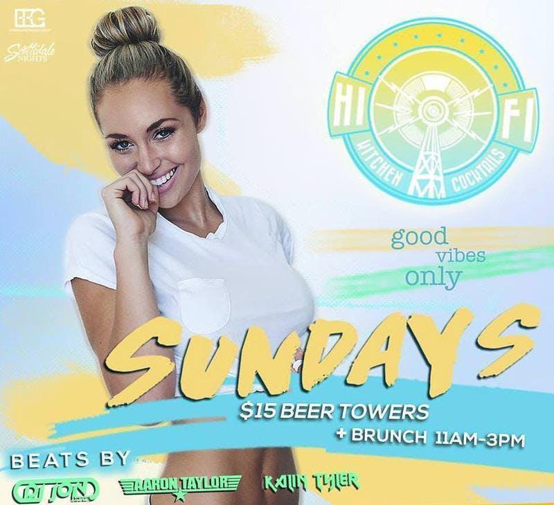 Hi FI Sundays at Hi Fi Free Guestlist - 6/30/2019