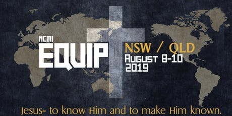 NCMI Equip NSW/ QLD tickets