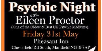 Pheasant Inn (MANSFIELD) Psychic Night - Eileen Proctor