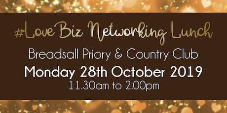Derby #LoveBiz Networking Lunch Event tickets