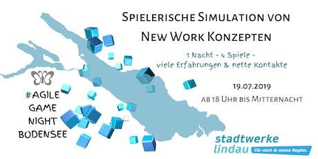 1. #AgileGameNightBodensee:  Spielerische Simulation von New Work Konzepten Tickets