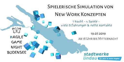 1. #AgileGameNightBodensee:  Spielerische Simulation von New Work Konzepten