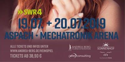 Andrea Berg: Aspach Heimspiel Concert, Bus Tour & Hostel Tickets by TourGuides.dk