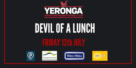 Yeronga Junior AFL - Devil of A Lunch with Luke Hodge tickets