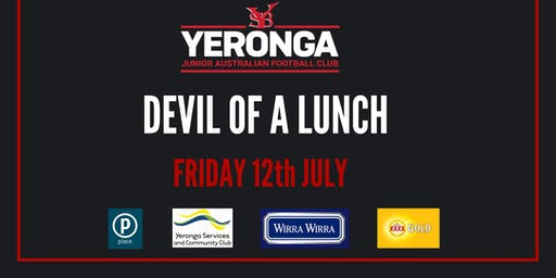 Yeronga Junior AFL - Devil of A Lunch with Luke Hodge