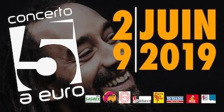 Concerto @ 5€ 2019 entradas