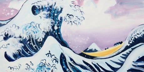 Paint The Great Wave + Wine! London Bridge, Saturday 13 July tickets