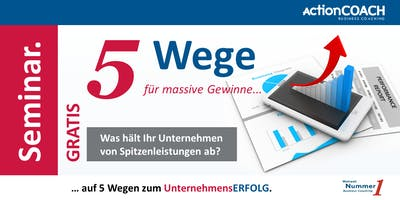 Auf 5 Wegen zum UnternehmensERFOLG.