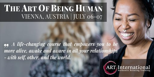 Authentic Relating Weekend Course - The ART of Being Human: Level 1
