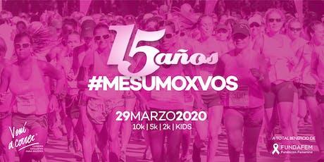 CARRERA DE LA MUJER 2020 VENÍ A CORRER entradas