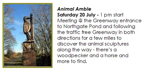 Rides for All - Animal Amble tickets