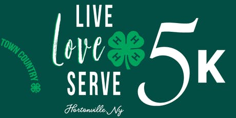Live. Love. Serve. 4-H 5K tickets