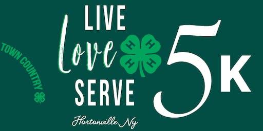 Live. Love. Serve. 4-H 5K