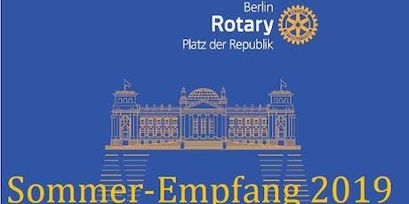 Rotary Club Berlin Platz der Republik - Sommerempfang 2019 Tickets