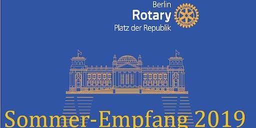 Rotary Club Berlin Platz der Republik - Sommerempfang 2019
