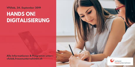 VFUlab 19 | Hands on! Digitalisierung tickets