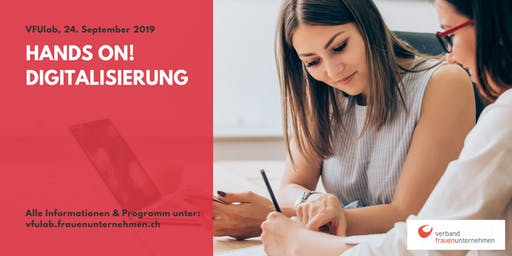 VFUlab 19 | Hands on! Digitalisierung