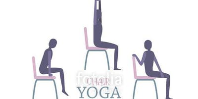 Weekly Pop-Up Chair Yoga at Fresh Thyme
