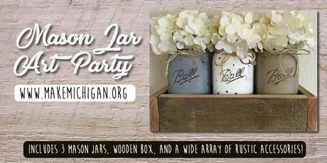 Mason Jar Art Party tickets