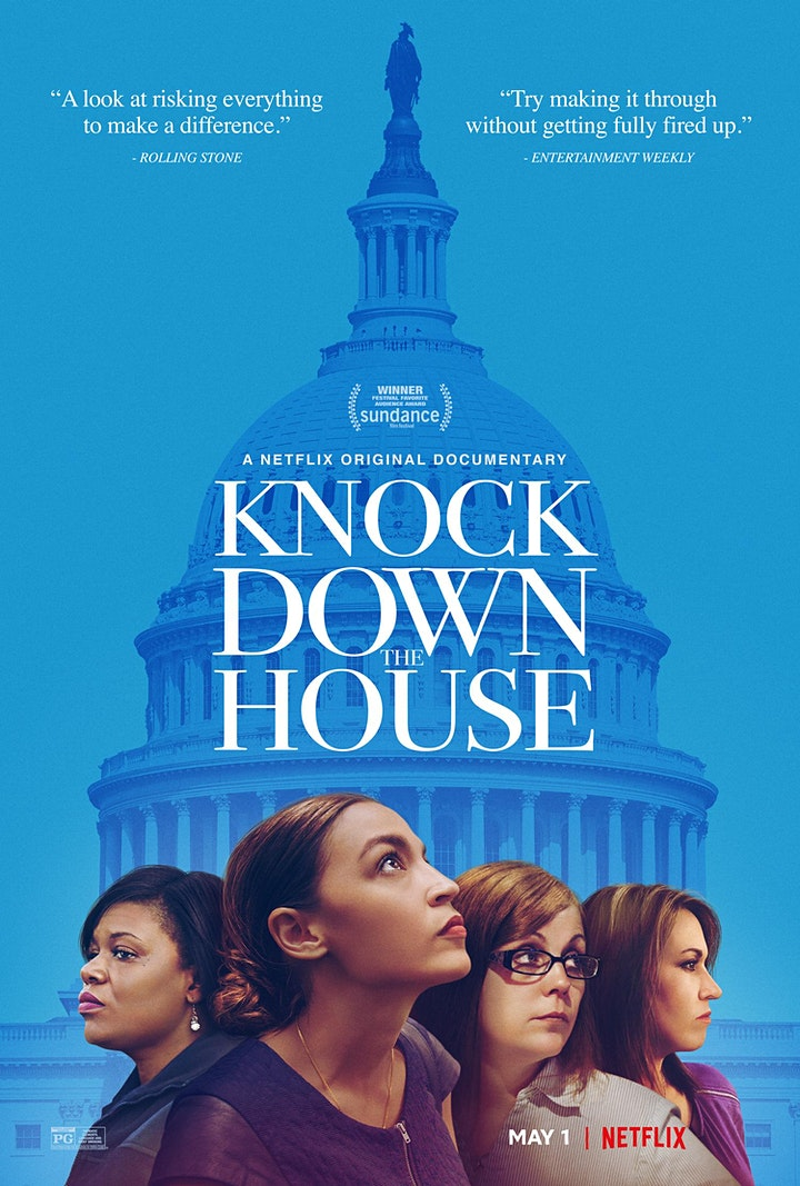Knock Down The House:  A FREE screening for do-gooders & troublemakers. image