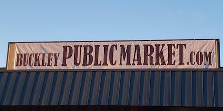 Buckley Public Market tickets