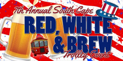 Red, White & Brew Trolley Event (Pub Crawl)