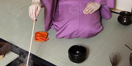 Japanese tea ceremony Trial class