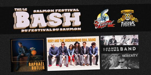 The Salmon Festival Bash! Le Bash du Festival du saumon!
