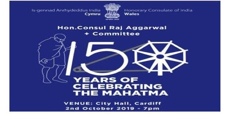"""150 YEARS OF MAHATMA GANDHI"" tickets"