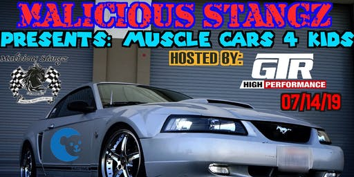 MALICIOUS STANGZ PRESENTS:MUSCLE CARS 4 KIDS