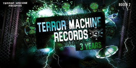 3 Years Terror Machine Records Tickets