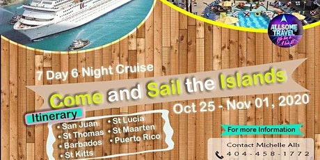 Come and Sail the Islands in 2020 tickets